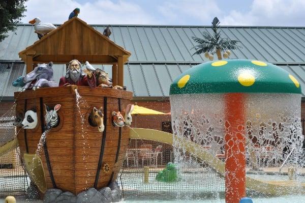 Noahs Ark at Quillian Center Boat