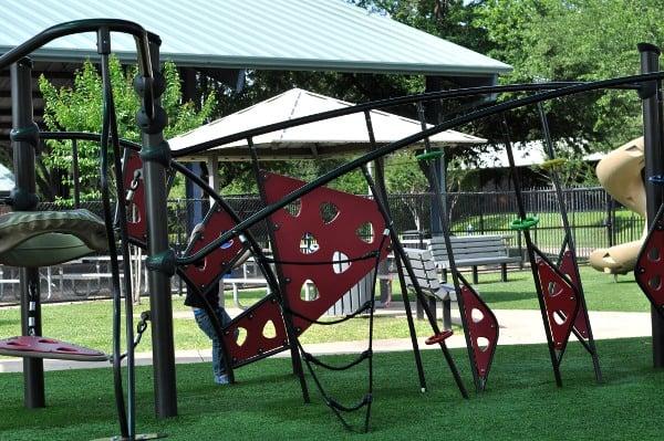 Quillian Center Playground Climbing Circles