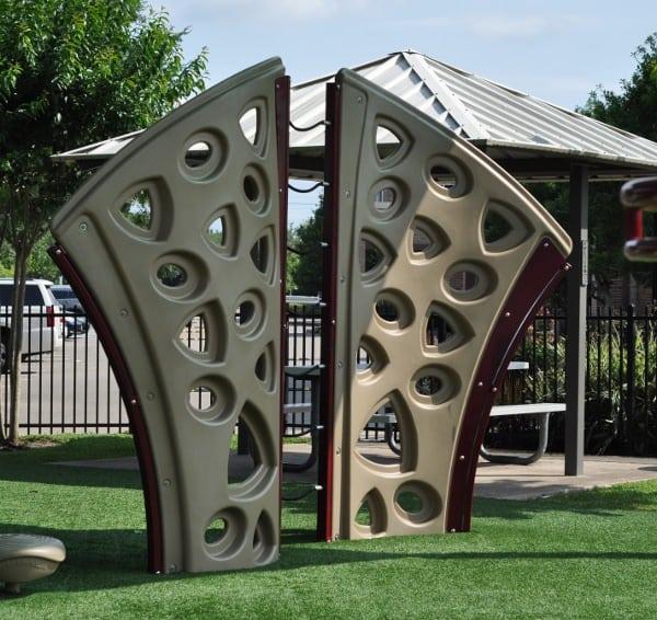 Quillian Center Playground Climbing Wall