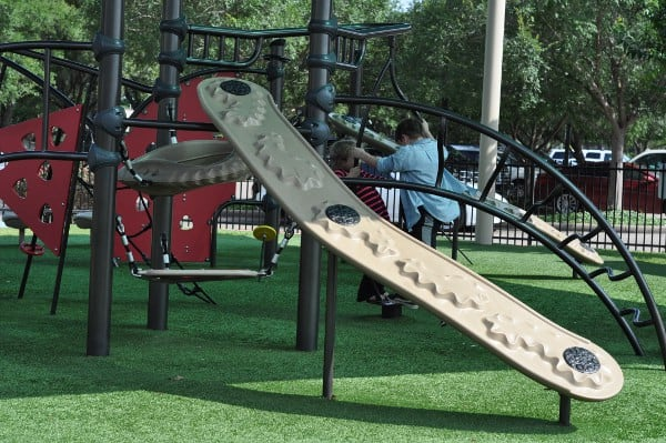 Quillian Center Playground Climbing
