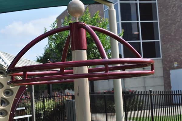 Quillian Center Playground Spinning Wheel