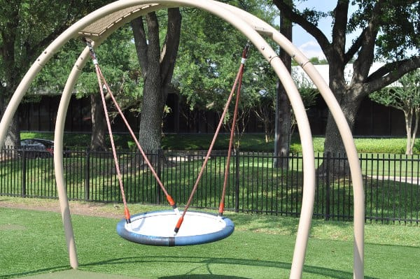 Quillian Center Playground Swing Disk