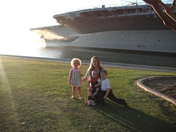 San Diego USS Midway BigKidSmallCity