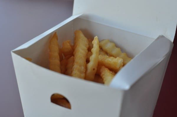 The Halal Guys Fries