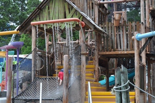 Wet N Wild Splashtown Treehouse Island Ropes