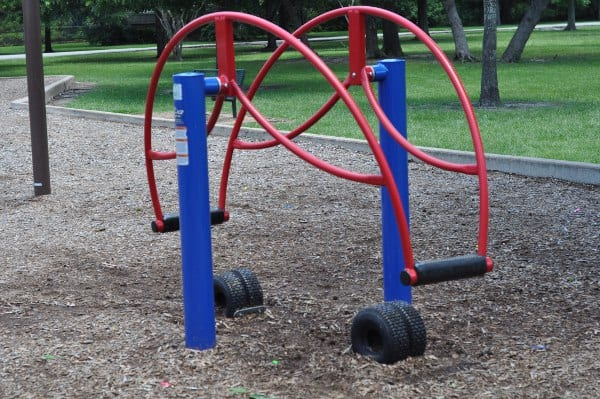 nobb Hill Park Stand Up Teeter Totter