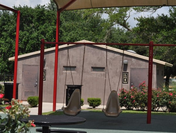City of Katy Play Station Swings and Restroom