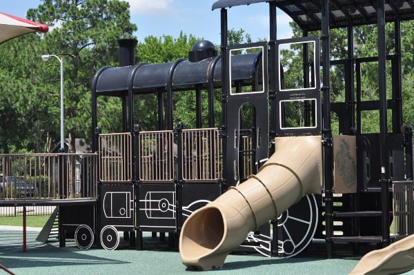 City of Katy Play Station Train Playground