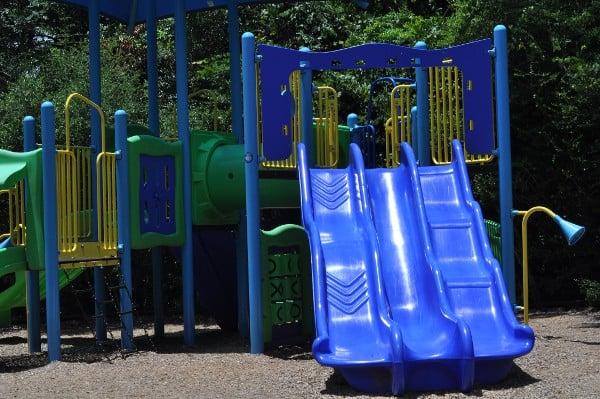 Creekwood Park The Woodlands Playground Slide
