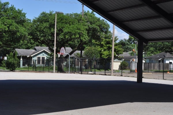 Field Spark Park Basketball Court