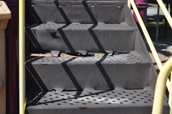 Field Spark Park Damage on Equipment