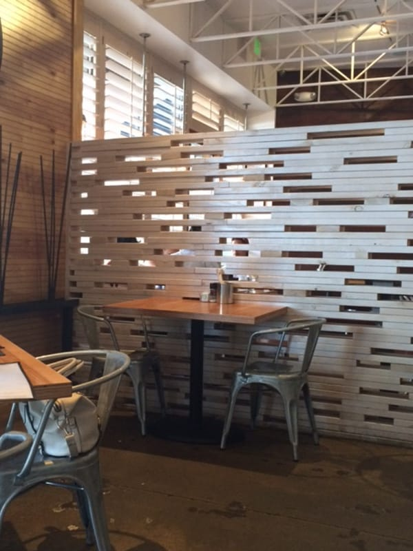 Jupiter Piizza and Waffle Co. in Sugar Land Town Square Inside