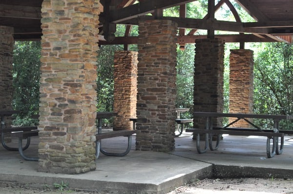 Meadow Lake Park The Woodlands Picnic Pavilion