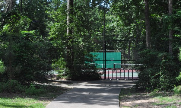 Meadow Lake The Woodlands Tennis Court