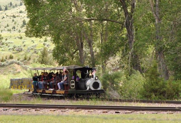 Nevada City to Virginia City Train Montana
