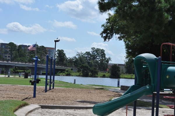 Northshore Park The Woodlands Swings And Lake
