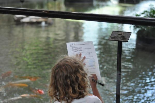 Omni Hotel Houston Westside Scavenger Hunt BigKidSmallCity.com