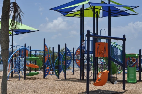 Seawolf Park Galveston Playground