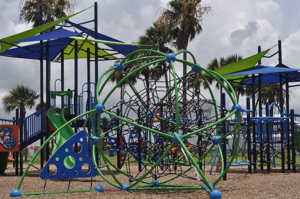 Seawolf Park Galveston Spiderweb