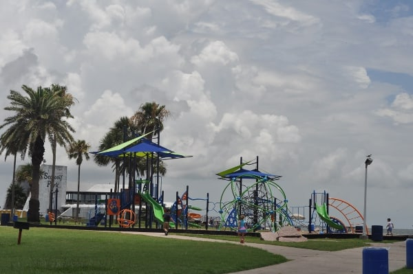 Seawolf Park in Galveston