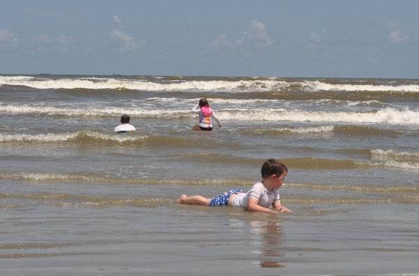 Stewart Beach Family Beach in Galveston