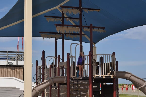 Stewart Beach Galveston Ship Playground1