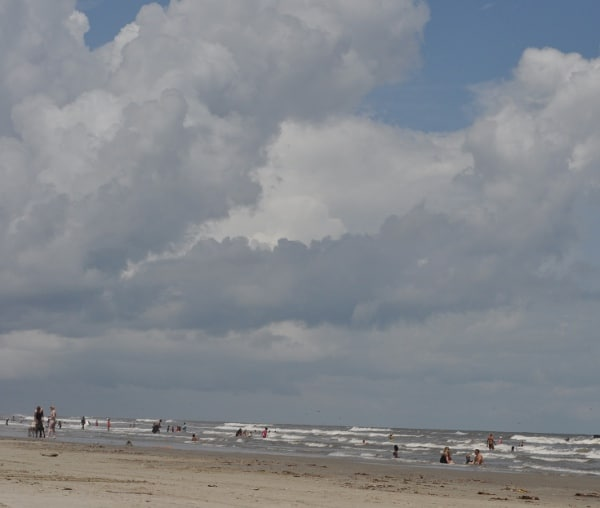 Stewart Beach in Galveston