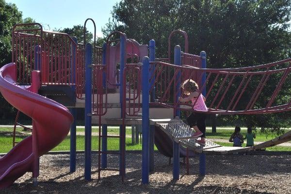 TC Jester Park Playground Bridge