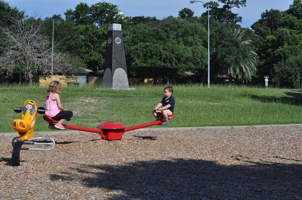 TC Jester Park Playground Teeter Totter