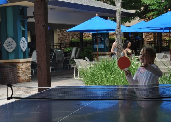 The Woodlands Resort Table Tennis BigKidSmallCity.com