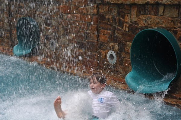 The Woodlands Resort Water Slide Splash BigKidSmallCity