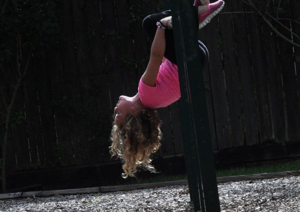 Upside Down at Joe Gaither Park Bellaire