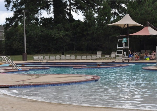 Wendtwoods Park Pool The Woodlands Small Lazy River