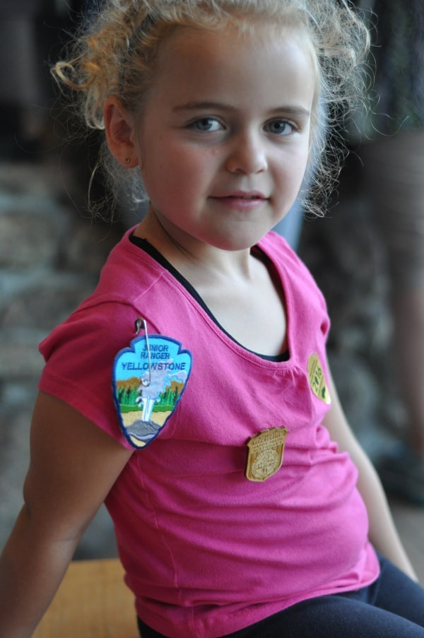 Yellowstone National Forest Junior Ranger Badges