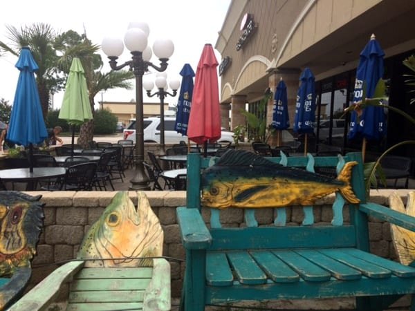 Blue Water Seafood Bench