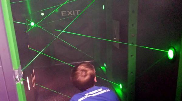 Childrens Museum Secret Mission Laser Box