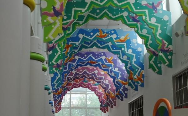 Childrens Museum of Houston Grand Hallway