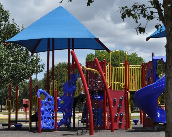 Clear Lake Park Big Play Structure
