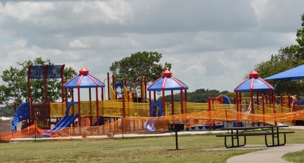 Clear Lake Park Playground Under Construction