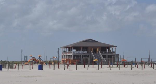 East Beach Galveston Pavilion