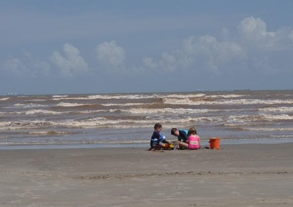 East Beach In Galveston Playground And Festivals