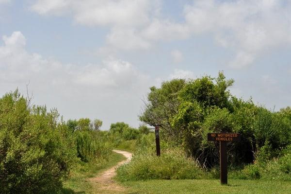 Galveston Island State Park Trail