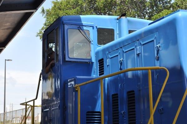Galveston Railroad Museum Train Ride