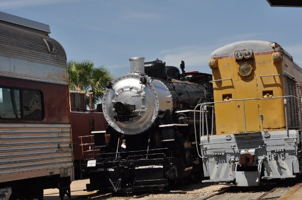 Galveston Railroad Museum Trains