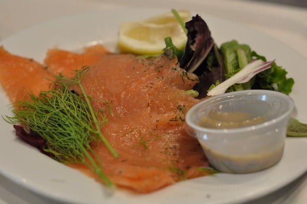 IKEA Houston Restaurant Cured Salmon