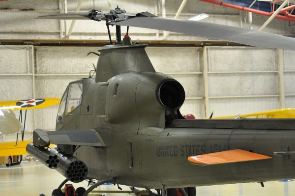 Lone Star Flight Museum Army Helicopter