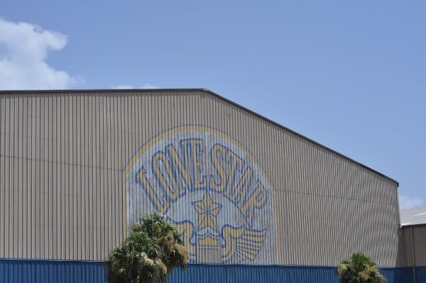 Lone Star Flight Museum Galveston Building