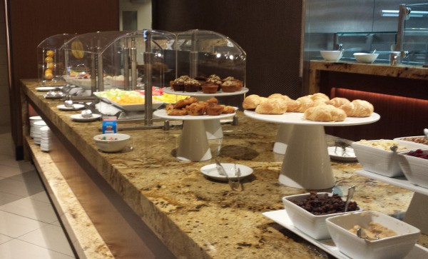 Marriott IAH Breakfast Buffet