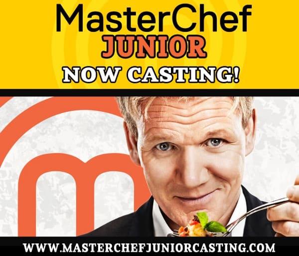 Master Chef Junior Now Casting