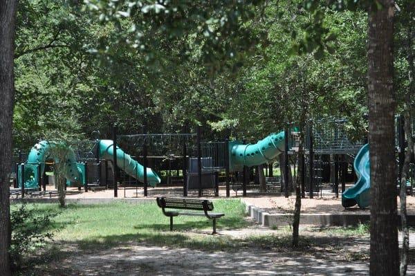 Mercer Arboretrum Playground Structure